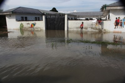 Floods cut off Dar es Salaam from other parts of the country (file photo).