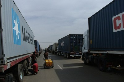 Border crossing.
