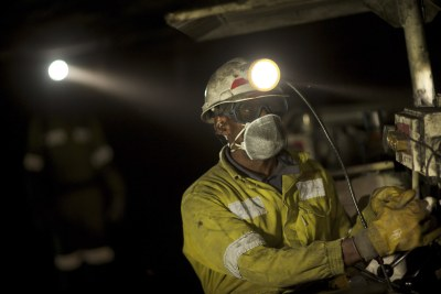 Mining at a South African Coal Face