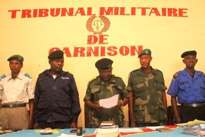 Les Juges militaires