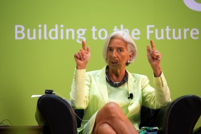 International Monetary Fund Managing Director Christine Lagarde (file photo).