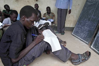 Former child soldiers (file photo)