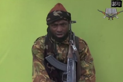 Boko Haram leader, Abubakar Shekau (file photo).