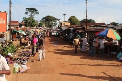 (Photo d illustration) La situation semble normale dans les rues de Kenema.