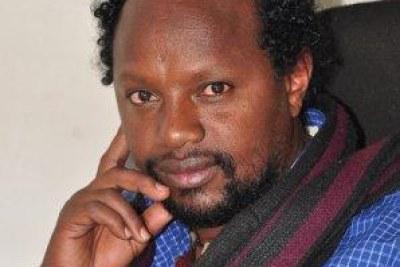 Ethiopian journalist and Editor-in-chief of Feteh newspaper, Temesgen Desaleg