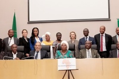 African Business Roundtable on Ebola at African Union headquarters in Addis.