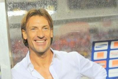 Hervé Renard, sélectionneur du Maroc