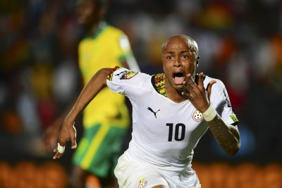 Andre Ayew of Ghana (file photo).