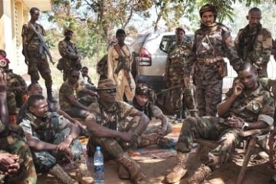 Ex-Seleka fighters.