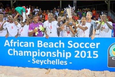 Madagascar champion d'Afrique de Beach Soccer 2015 tenu aux Seychelles