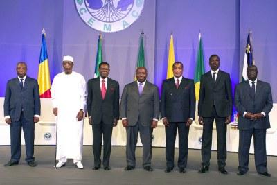 Chefs d'États membres de la Communauté économique et monétaire de l'Afrique centrale (CEMAC)
