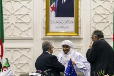 Signature de l'accord de paix d'Alger à Bamako