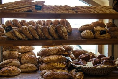 A selection of breads in a bakery (file photo).