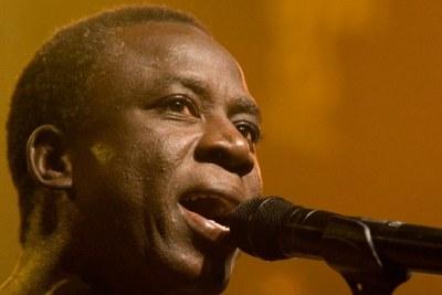 Le chanteur sénégalais Thione Seck