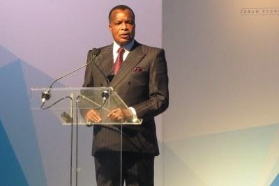 Denis Sassou Ngesso, Président de la République de Congo