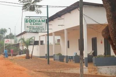 L'entreprise Sodiam est l'un des plus grands acheteurs de diamants en Centrafrique.