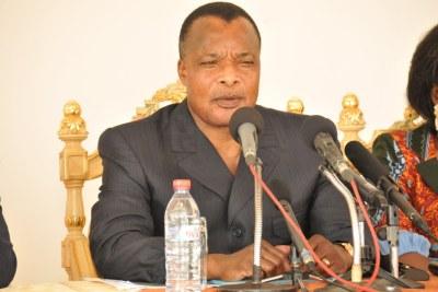 Président Denis Sassou N'Guesso