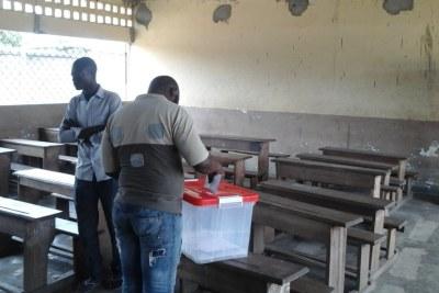 Archive - Le vote timide à Diata