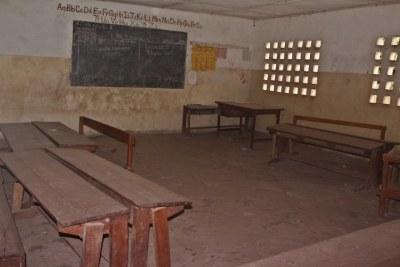 Une salle de classe (archive)