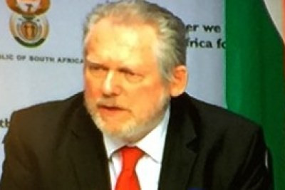 Rob Davies, South African Minister of Trade and Industry