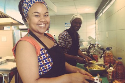 Chefs Kate Muwoki (Zambia) and Heritier Makonga (Congo) run Kitoko Kitchen. They are part of a growing number of African culinary creatives and entrepreneurs.