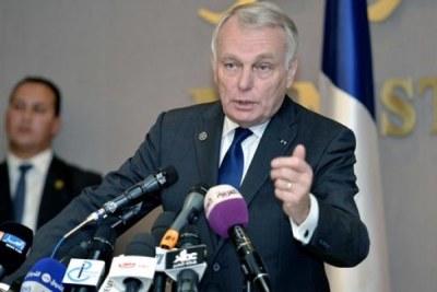 Le ministre français des Affaires étrangères et du Développement international, Jean-Marc Ayrault