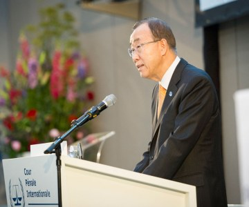 UN Secretary General Ban Ki-moon Opens Permanent Home for the International Criminal Court