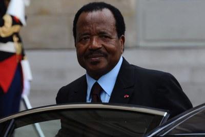 Cameroon's President Paul Biya.