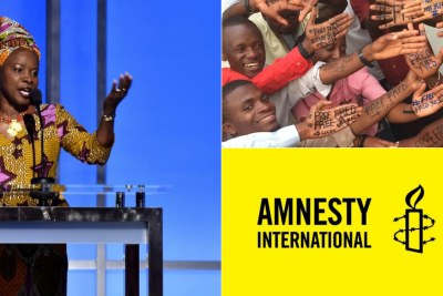 Musician Angélique Kidjo and African youth activists honoured with Amnesty International award.