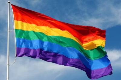 The rainbow flag, commonly the gay pride flag and LGBT pride flag, is a symbol of lesbian, gay, bisexual, and transgender (LGBT) pride (file photo).