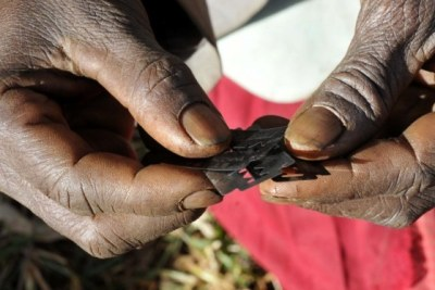 An estimated 200 million women have undergone female genital mutilation in over 27 countries in Africa. (file photo).