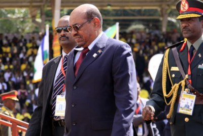 Former Sudanese President Omar al Bashir