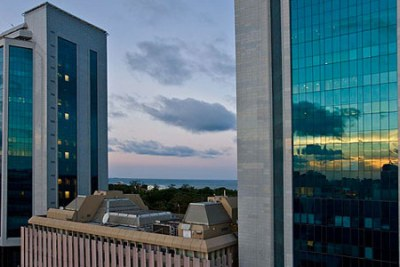 Bank of Tanzania (file photo),=.