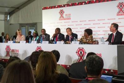 Ouverture de la 21ème Conférence internationale sur le sida à Durban
