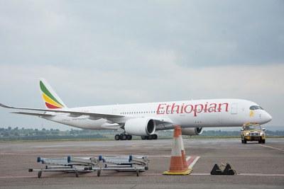 Ethiopian Airlines' Airbus A350XWB.