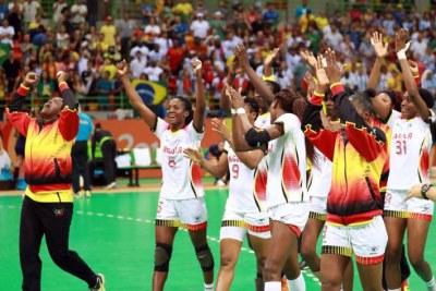 Rio 2016 / Handball: Belle victoire de l'Angola