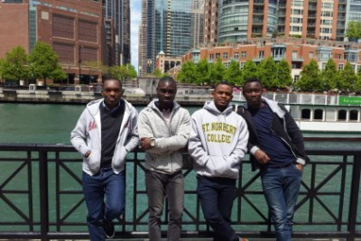 Ghanaian members of the Graduate Engineering Training Programme (GETP) on a training course in the United States. The GETP was launched in 2014 as part of GE's commitment to skills development and localisation in Africa, and has quickly become a best-in-class programme for young engineers.