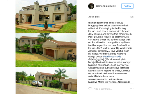 Tanzanian Singer Diamond Platnumz Shows Off His New House ... on