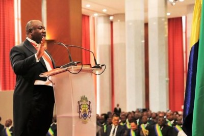 Ali Bongo prête serment