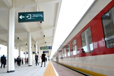 The Ethiopian-Djibouti railway.