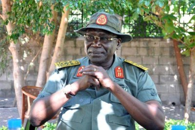 Former South Sudan People's Liberation Army commander, Gen Paul Malong.