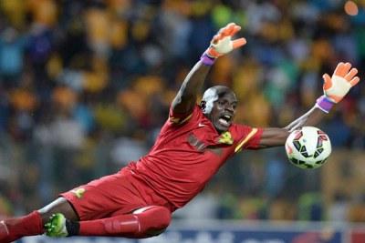 Denis Onyango is the first Ugandan athlete to be recognised internationally.