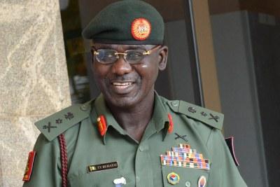 Army chief  Tukur Buratai.