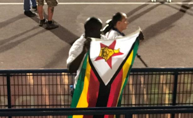 Supporter Zimbabwéen