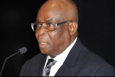 Former Chief Justice of Nigeria, Justice Walter Onnoghen (file photo)