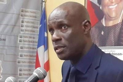 Information Minister Eugene Nagbe