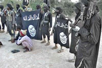 Boko Haram members (file photo).