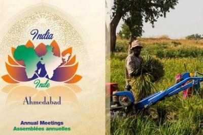 Assemblées annuelles de la BAD 2017 à Ahmedabad, en Inde.