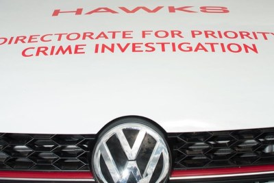 VW Golf GTI used by the Hawks police unit (file photo).