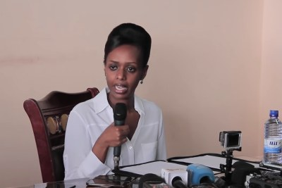 Businesswoman and women's rights activist Diane Rwigara joined the presidential race.